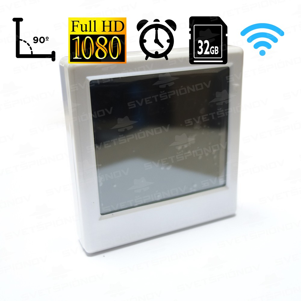 HD WIFI špionážny budík 8880360826a