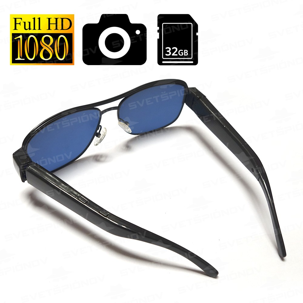Slnečné okuliare s HD kamerou da183cdf579