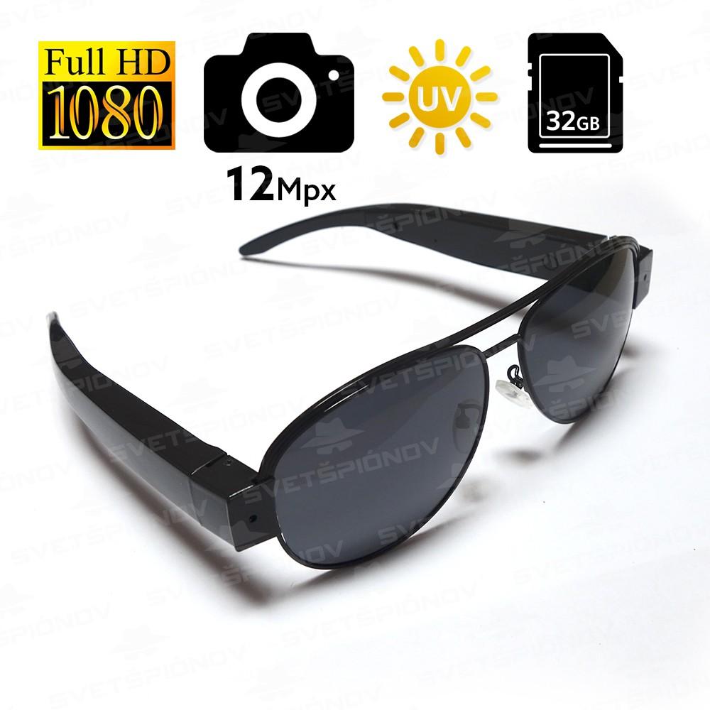Slnečné okuliare s HD kamerou  1618a87607c